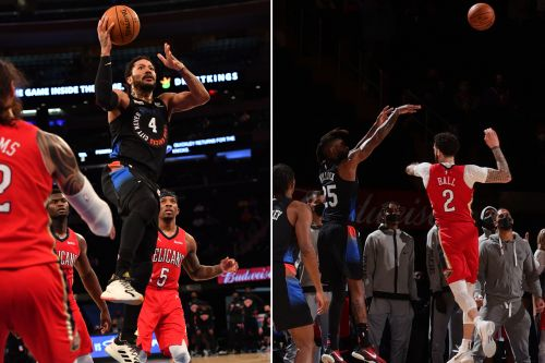 Derrick Rose, Reggie Bullock heroics lift Knicks to OT win over Pelicans