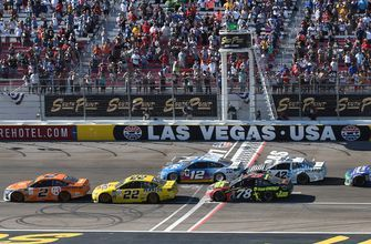 Larry McReynolds thinks NASCAR should go back to racing to the line when there's a caution