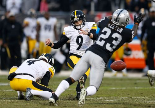 Struggling Steelers kicker Boswell fighting for his job