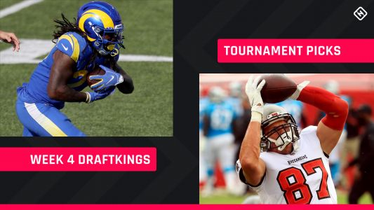 DraftKings Picks Week 4: NFL DFS lineup advice for daily fantasy football tournaments