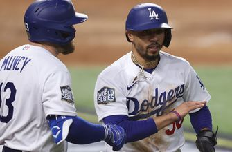 Dodgers rally for two in the sixth after Blake Snell is pulled, take 2-1 lead in Game 6