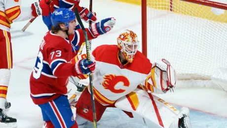 Toffoli strikes twice as Canadiens vanquish Flames late in final frame