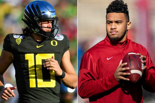 Dolphins growing NFL draft crush on Justin Herbert amid Tua Tagovailoa worries