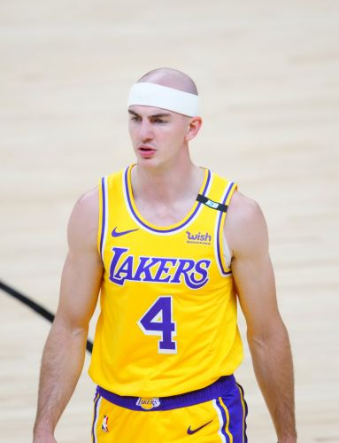 Los Angeles Lakers' Alex Caruso arrested in Texas for possession of marijuana