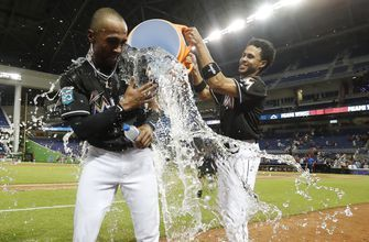 Galloway hits walk-off double in 10th, Marlins beat Reds 1-0