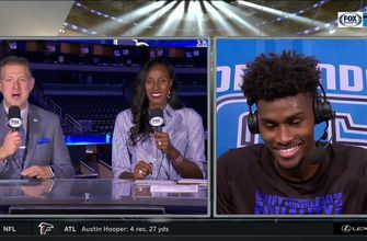 Jonathan Isaac on the team effort to get the win: 'the best wins are when everyone is involved'