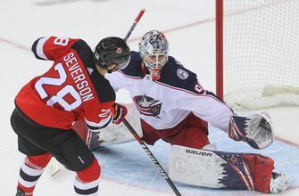 Blackwood makes 52 saves, Devils beat Blue Jackets 4-3 in SO