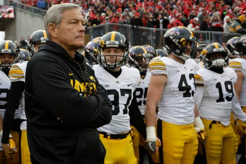 Iowa football accused of treating black players 'unfairly'