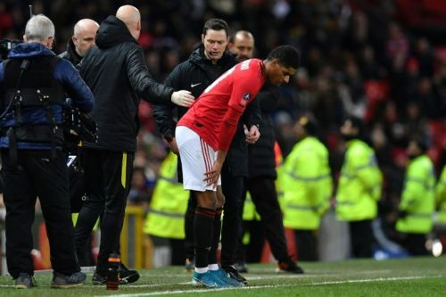Rashford 'touch and go' to play again this season, says Solskjaer