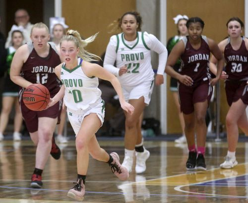 Girls basketball: East opens up title defense in dominating fashion; Briggs leads Provo over Jordan