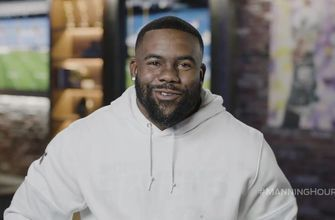 Ravens' RB Mark Ingram teaches Cooper Manning to be a better teammate on the Manning Hour