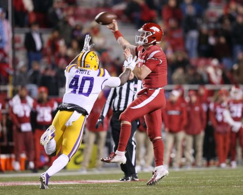 LSU linebacker Devin White says he is entering for NFL draft