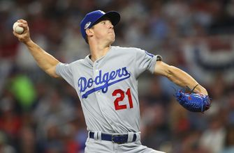 Rookie Buehler looks to eat some innings for Dodgers in NLCS