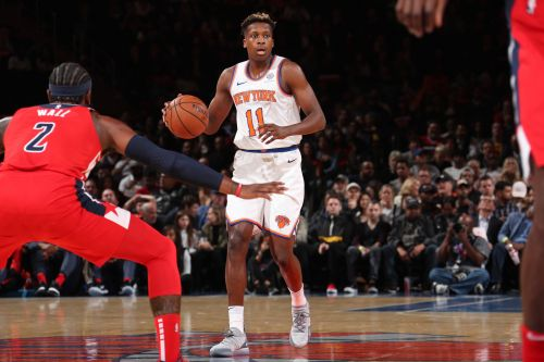 Frank Ntilikina's growth forcing Knicks into difficult decision