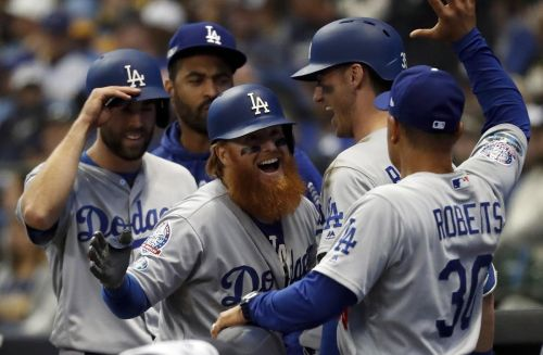 Turner and Dodgers strike back for NLCS Game 2 win over Brewers