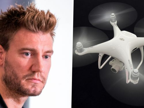 Bendtner to sell house after being spied on by drone during 'Harry Potter marathon'