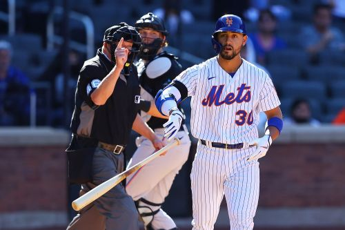 Mets rally to win home opener on controversial walk-off hit-by-pitch