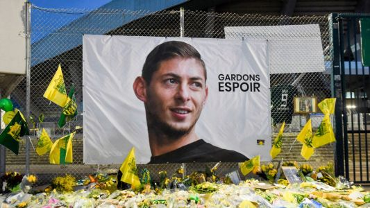 Two Brits jailed over leaked image of Sala