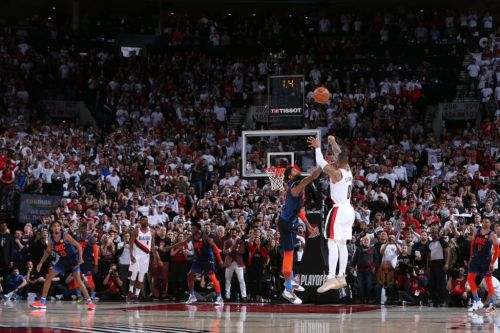 'That's a Bad, Bad Shot': Paul George Tips His Cap at Damian Lillard