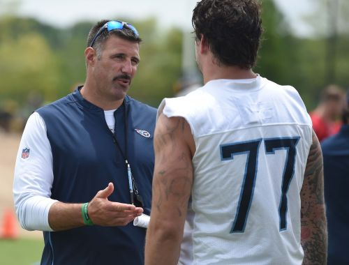 Titans coach Mike Vrabel would sacrifice this body part to win a Super Bowl
