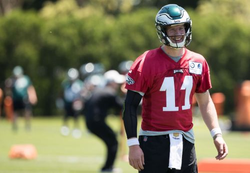 In return for Eagles, Carson Wentz's biggest challenge is striking right balance of aggression and caution