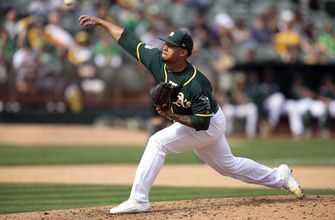Frankie Montas parlays new pitch into spot in A's rotation