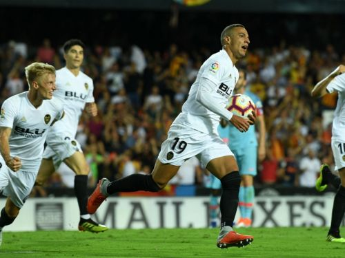 Valencia 1 Atletico Madrid 1: Rodrigo strikes to deny Simeone's side