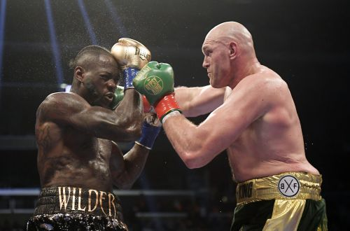 Deontay Wilder on Floyd Mayweather: 'He Wants All the Attention on Him'