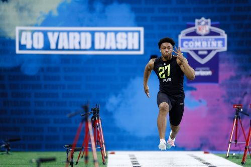 NFL Combine: Wisconsin's Jonathan Taylor shows why he's first-round material