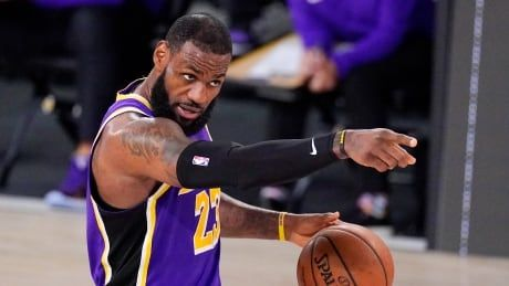 LeBron James leads Lakers back to NBA Finals, where underdog Heat await