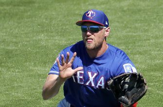 Veteran OF Pence set to start season with hometown Rangers