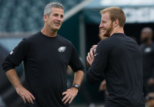Frank Reich on Carson Wentz: 'I love sticking my neck out for people I believe in'