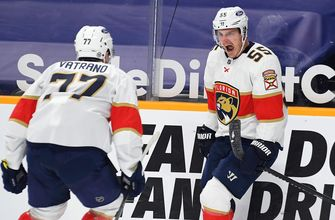 Noel Acciari notches hat trick, Panthers top Preds for 2-game series sweep