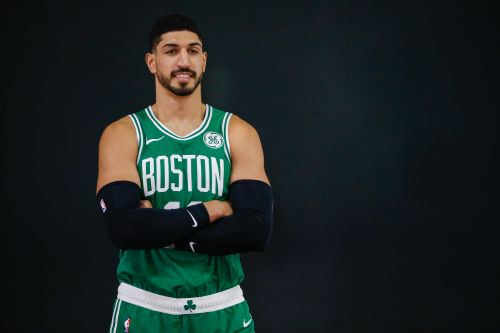 Enes Kanter visits Capitol Hill: 'What's happening in Turkey is a human tragedy'