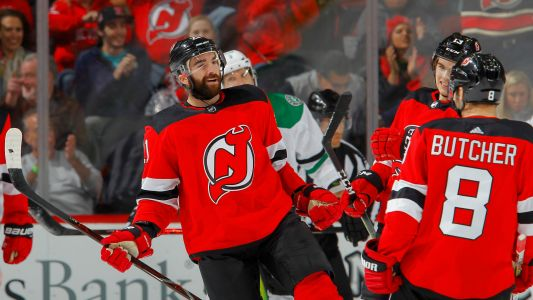 Kyle Palmieri scores Devils' first goal, makes NHL history
