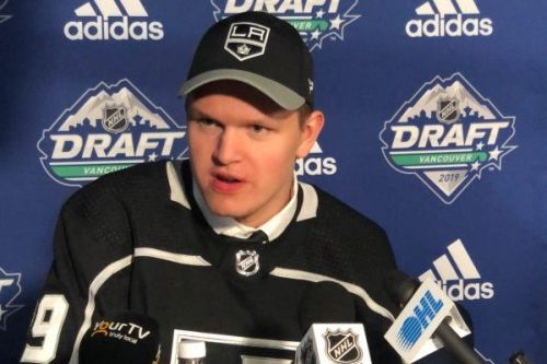 LA Kings Select Arthur Kaliyev No. 33 - What You Need to Know