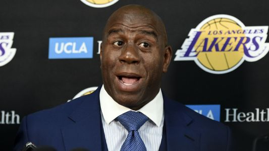 Magic Johnson says he talks to Lakers every day: 'It's almost like I never left'