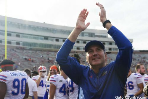 """Britt likes the """"love"""" the Florida Gators are showing him"""