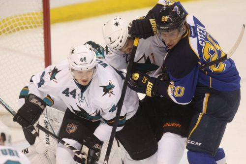 Watch: Sharks' Marc-Edouard Vlasic prevents goal with controversial stick save