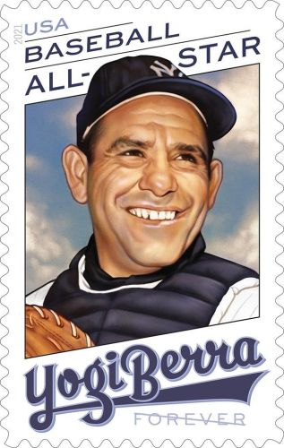 This makes cents: Yogi Berra gets a stamp named in his honor