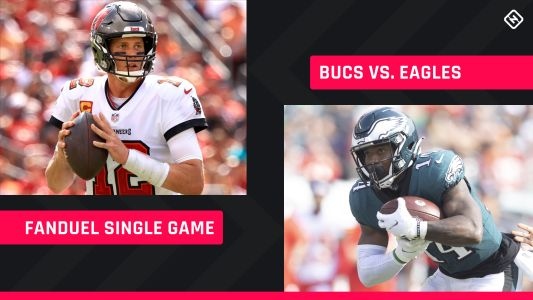 Thursday Night Football FanDuel Picks: NFL DFS lineup advice for Week 6 Buccaneers-Eagles single-game tournaments
