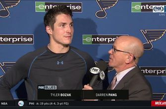 Bozak after shootout loss to Sabres: 'We were lucky to get a point'