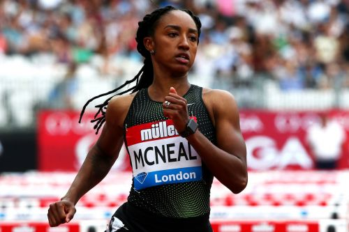 Olympic gold medalist Brianna McNeal charged with 'tampering' with doping results