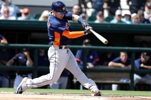 Bregman 7th Astros player hit by pitch in 5 games