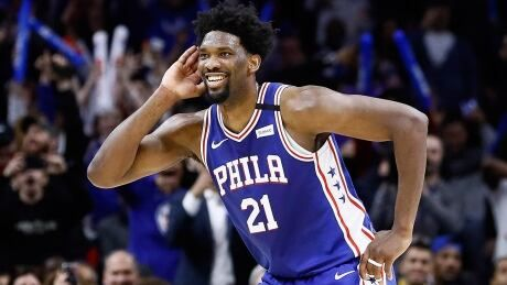 76ers' Joel Embiid fined $25K US for obscene gesture vs. Hawks