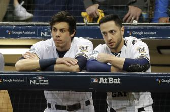 Brewers look to bright future after NLCS loss to Dodgers