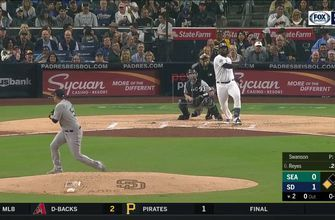 HIGHLIGHTS: Franmil Reyes goes yard twice, Austin Hedges adds one for good measure in Padres 6-3 win