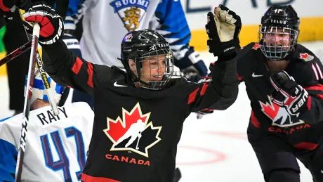 Loren Gabel leads Canadian attack with 3 points in win over Finland