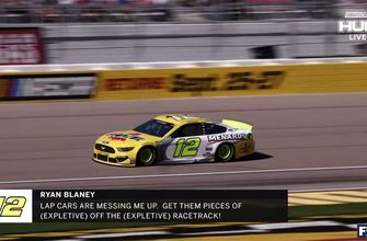 Radioactive: Las Vegas: 'Get them pieces of off the racetrack!' | NASCAR RACE HUB