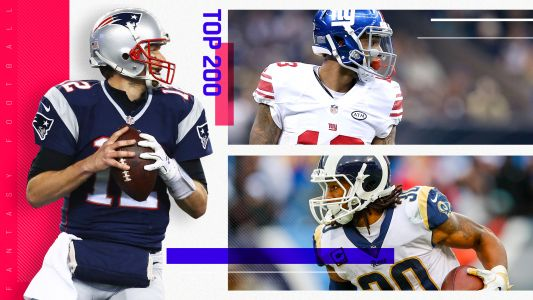 Fantasy Football Rankings: Top 200 cheat sheet
